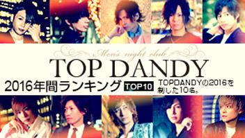 TOPDANDY2016年間ランキングTOP10