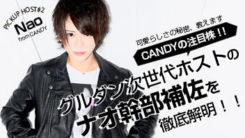 CANDY/ナオ幹部補佐インタビュー