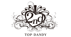 TOP DANDY 2ndロゴ