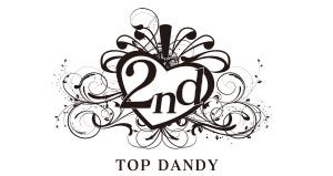 TOP DANDY 2ndロゴ